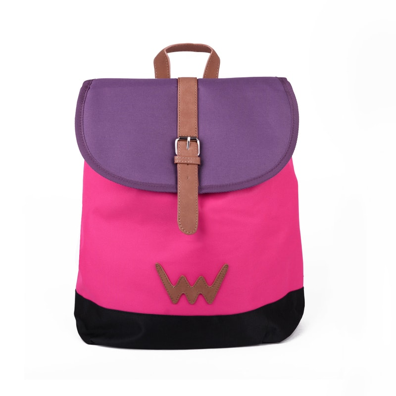 Dámský růžový batoh do města Travel Collection - TOURY TONY - Vuch e62cdcae95