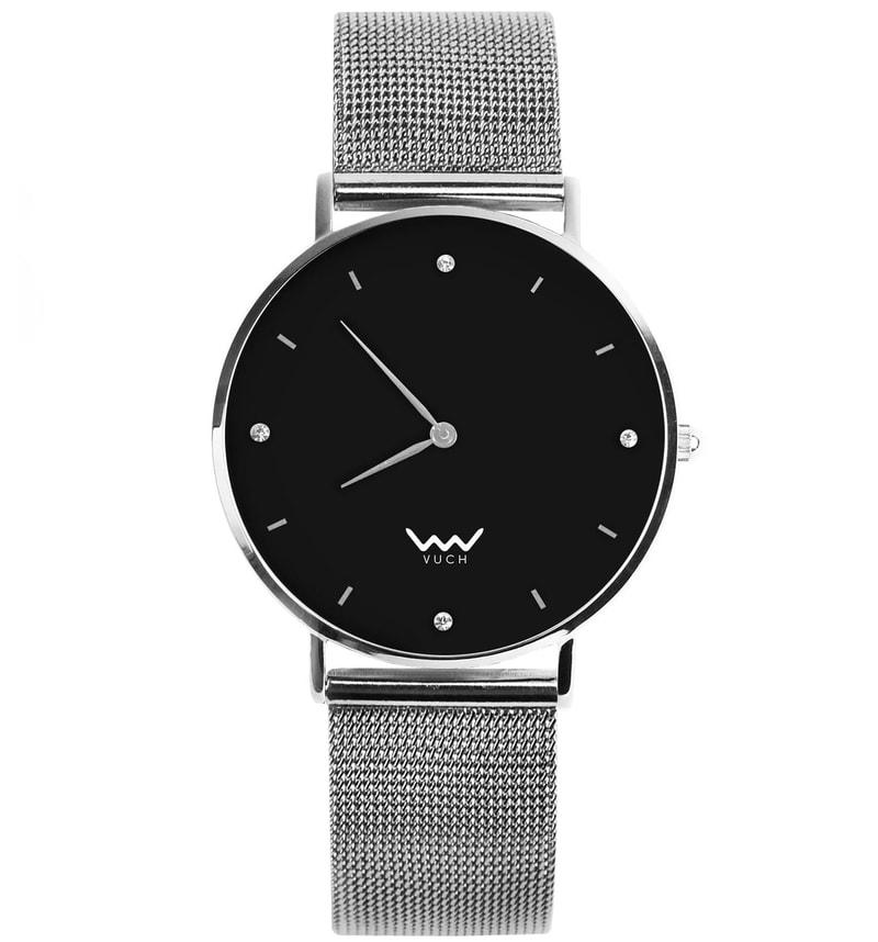 4f923d92e92 Dámské hodinky s páskem z nerezové oceli Moon Collection - MILA - Vuch